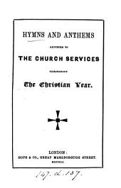 A selection of hymns from the Lyra Germanica of C. Winkworth [tr. from Versuch eines allgemeinen Gesang- und Gebetbuchs, compiled by C.C.J. Bunsen].