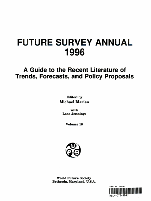Future Survey Annual 1996 PDF