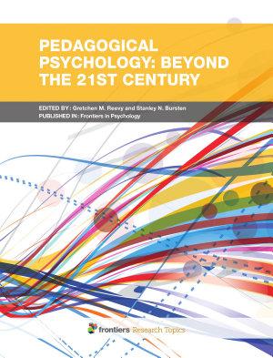 Pedagogical Psychology  Beyond the 21st Century