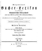 Bd. 1847-51. Bearb. u. hrsg. von L. F. A. Schiller. 1854-55. 2 pt. in 1 v