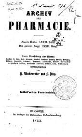 Archiv der Pharmacie, eine Zeitschrift des Apotheker-Vereins im nordlichen Teutschland