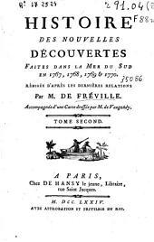 Histoire des nouvelles découvertes faites dans la mer du Sud en 1767, 1768, 1769 & 1770