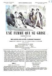 Une femme qui se grise vaudeville en un acte par mm. Guénée, Delacour et Lambert Thiboust