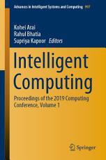 Intelligent Computing PDF