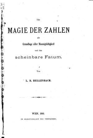 Die magie der zahlen als grundlage aller mannigfaltigkeit und das scheinbare fatum PDF