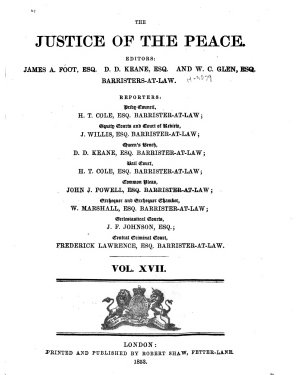 Justice of the Peace and Local Government Review PDF