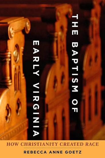 The Baptism of Early Virginia PDF