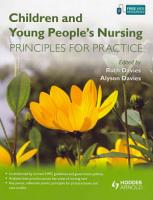 Children and Young People s Nursing PDF