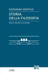Storia della filosofia dalle origini a Platone