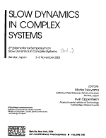 Slow Dynamics in Complex Systems PDF