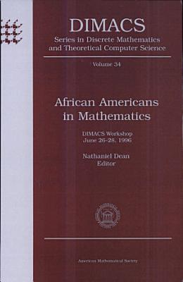 African Americans in Mathematics PDF
