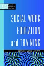 Social Work Education and Training PDF