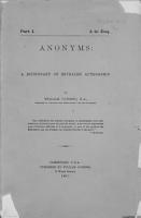 Anonyms PDF
