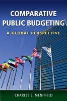 Comparative Public Budgeting  A Global Perspective PDF