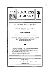Success Library: Volume 10, Parts 28-30