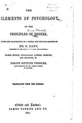 The Elements of Psychology on the Principles of Beneke