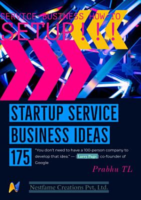 Startup Service Business Ideas 175