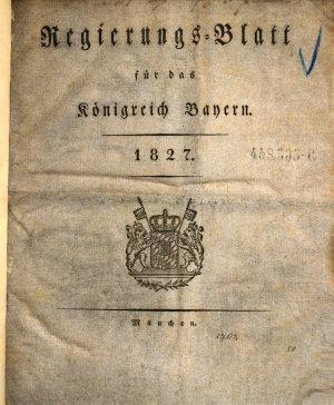 Allgemeines Intelligenzblatt f  r das K  nigreich Baiern PDF