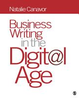 Business Writing in the Digital Age PDF
