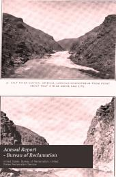 Annual report - Bureau of Reclamation: Issue 2