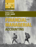Study Guide to accompany Weygandt Financial and Managerial PDF