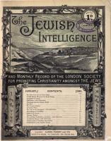 The Jewish Intelligence and Monthly Record of the Proceedings of the London Society for Promoting Christianity Amongst the Jews PDF