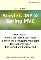 Servlet, JSP and Spring MVC