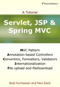 Servlet  JSP and Spring MVC PDF
