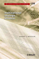 CBI Series in Practical Strategy  Multinational Strategic Alliances PDF