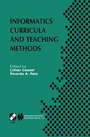 Informatics Curricula and Teaching Methods PDF