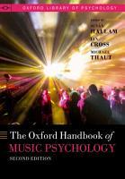 The Oxford Handbook of Music Psychology PDF