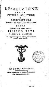 Studio di pittura, scoltura et architettura nelle chiese di Roma
