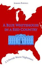 A Blue Whitehouse in a Red Country