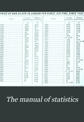 The Manual of Statistics: Stock Exchange Hand-book ..., Volume 18