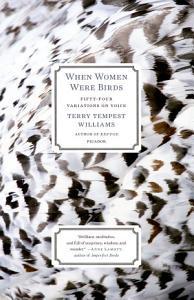 When Women Were Birds Book