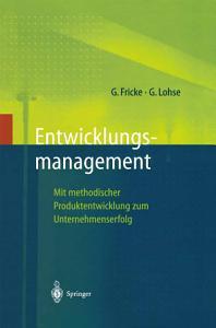 Entwicklungsmanagement PDF