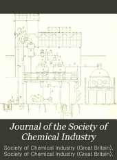 Journal of the Society of Chemical Industry: Volume 12