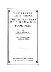 The Little Lame Prince: The Adventures of a Brownie, Poor Prin
