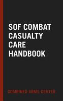 SOF Combat Casualty Care Handbook PDF
