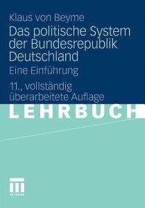 Das politische System der Bundesrepublik Deutschland PDF