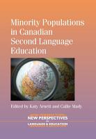 Minority Populations in Canadian Second Language Education PDF