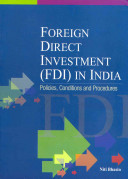 Foreign Direct Investment (FDI) in India