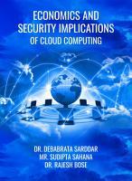 Economics and Security Implications of Cloud Computing PDF