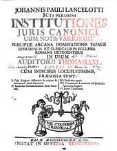 Institutiones Iuris Canonici