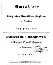 Amtsblatt der Königlichen Preußischen Regierung zu Bromberg: 1861