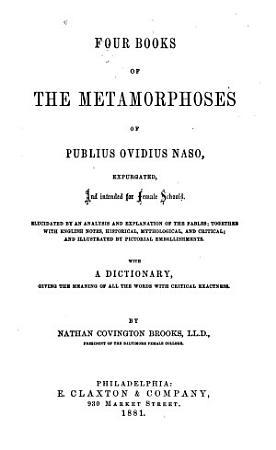 Four Books of the Metamorphoses PDF