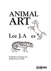 Animal Art Book Book