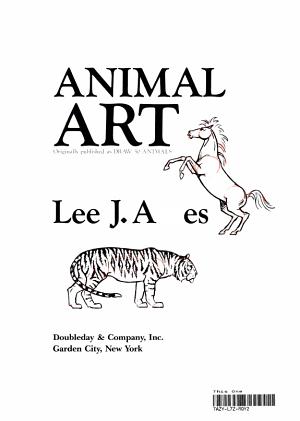 Animal Art Book