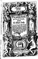 Biblia  Das ist  Die gantze heylige Schrifft Teutsch PDF