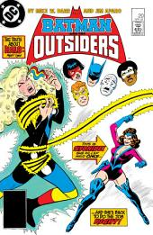Batman and the Outsiders (1983-) #20